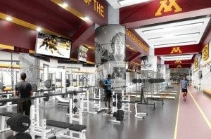 Updated Weight Room (Photo by JLG Architects)